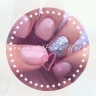 Touch of pink Nails