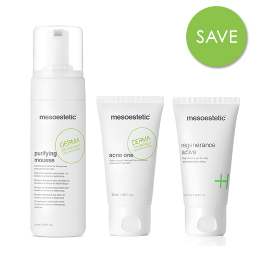 A Mesoestetic Regime – Acne Prone Skin Kit