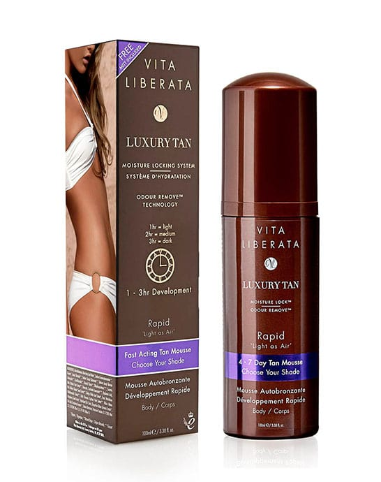 Rapid Self Tanning Tinted Tan Mousse 100ml