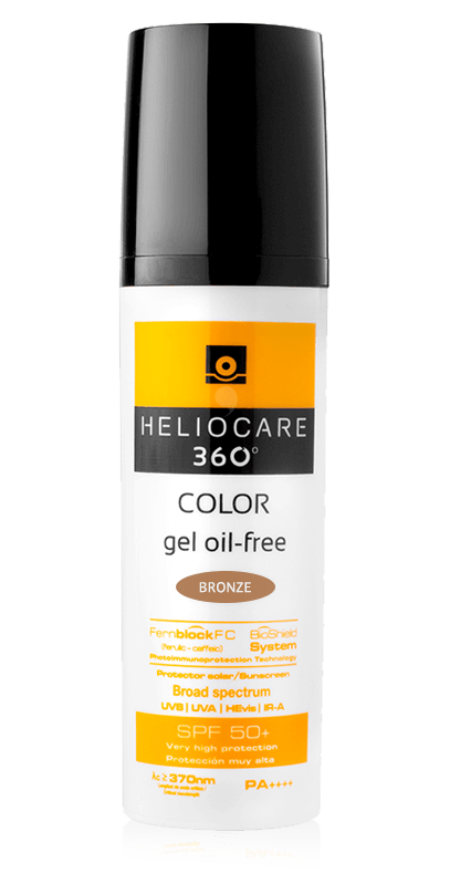 Heliocare 360° Gel Oil-Free SPF 50+ (Bronze) 50ml