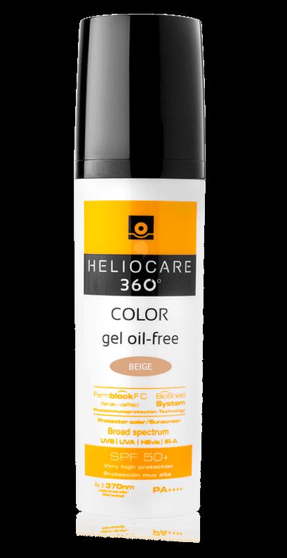 Heliocare 360° Gel Oil-Free SPF 50+ (Beige) 50ml