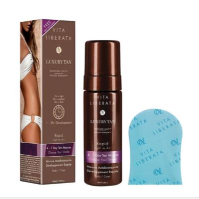 Rapid Tinted Tan Mousse 100ml (with Mini Mitt)