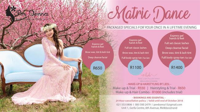 Matric Dance Special: Express Hands & Feet, Bow Wax, Tint, Lash Tint & Deep Cleanse Facial R650