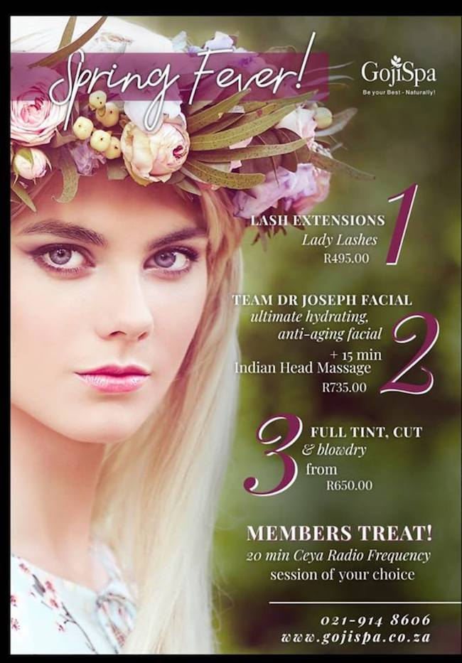 Spring Specials: Lash Extensions R495 (And more)