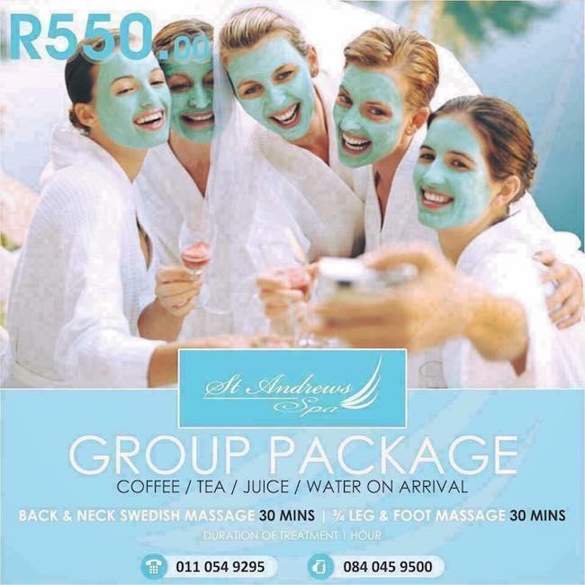 Group Package R550pp