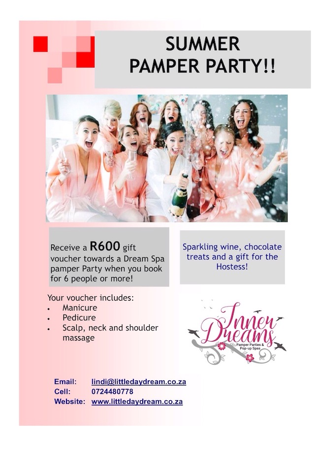 Summer Pamper Party