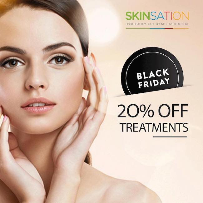 Black Friday: 23-25 Nov 2018 - 20% Off All Treatments