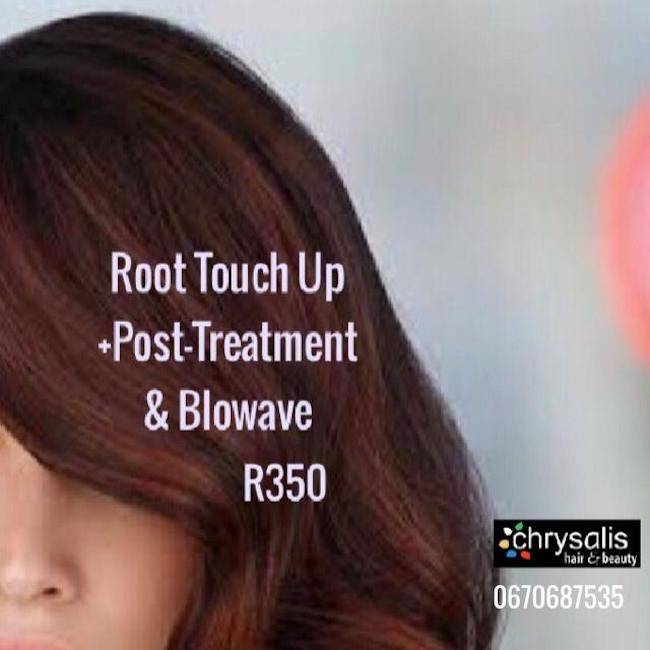 Root Touch Up, Post-Treatment & Blowave R350