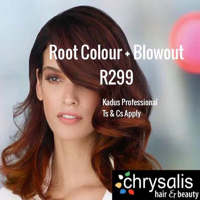 Root Colour & Blowout R299