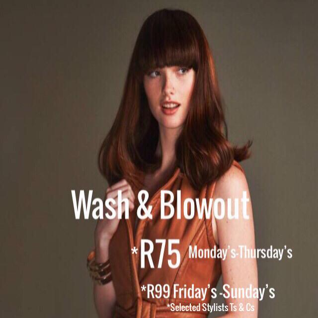 Wash & Blowout R75