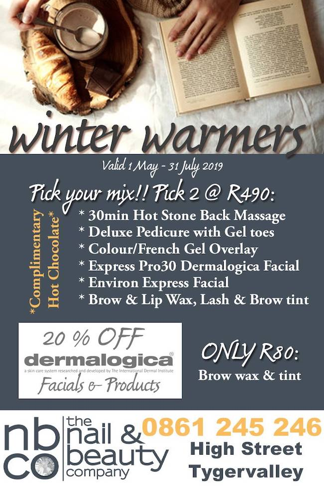 Winter Warmer Specials