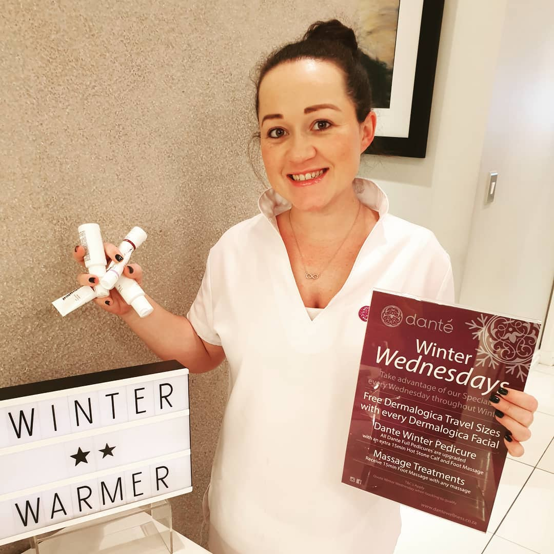 Quote 'Winter Wednesday' when Booking your Facial + Receive 2 FREE Dermalogica Travel Sizes