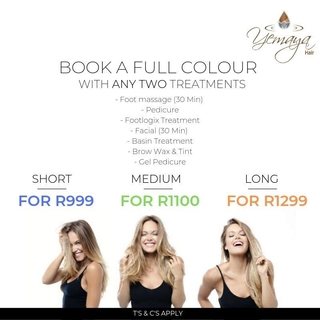 July Special Offer: Book a Full-Colour with Any Two (2) Treatments
