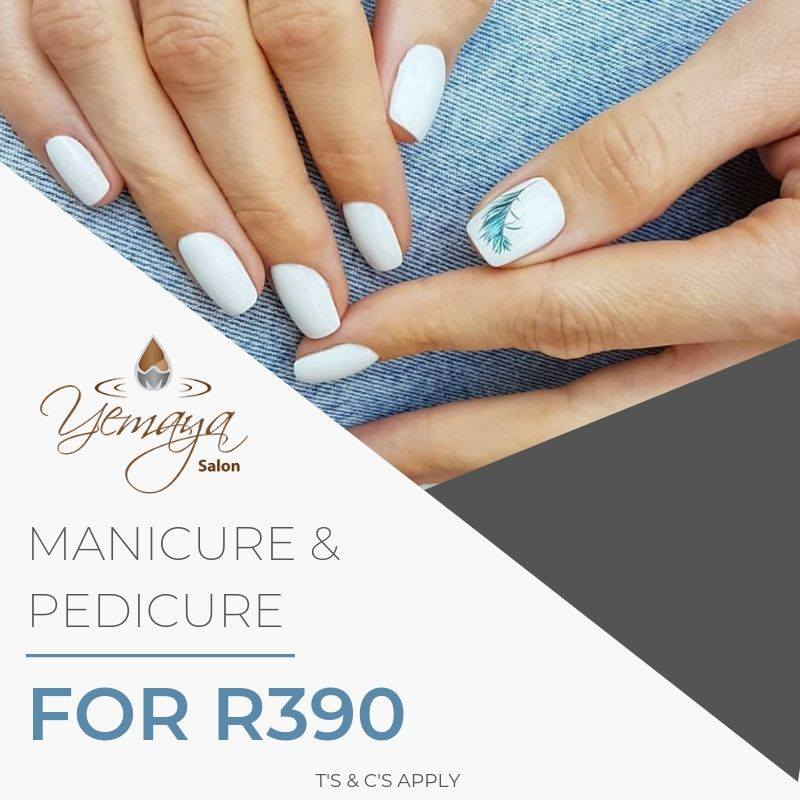 July Special Offer: Get a Manicure + Pedicure for ONLY R390!