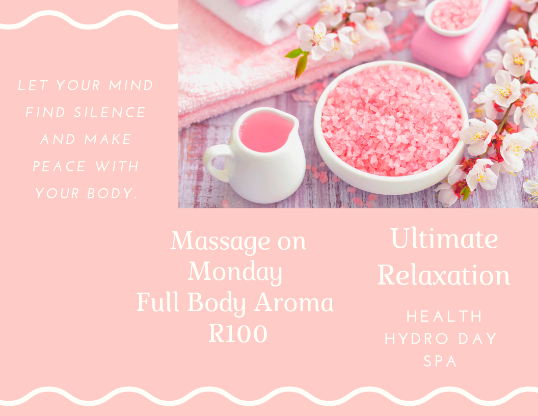 Monday massage deal not to be missed!