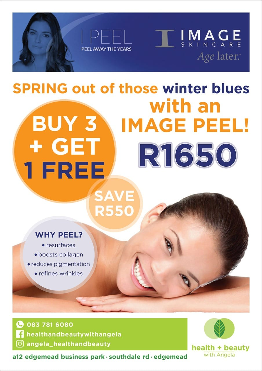 Spring out those winter blues with an image peel for only R1650!
