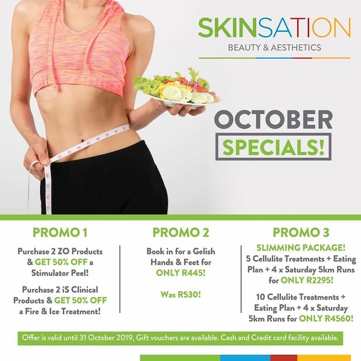 Dont miss our amazing slimming packages this October! Book today!