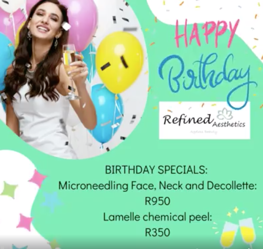 Don't miss these amazing birthday specials! Take advantage this month.
