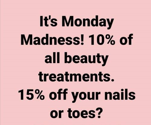 Get 10%-15% off every Monday for the month of November 2019!