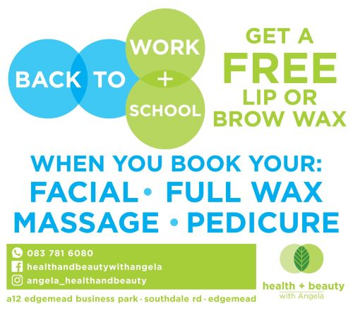 Enjoy a Free Lip or Brow Wax with our Back to Work + School Special this month!