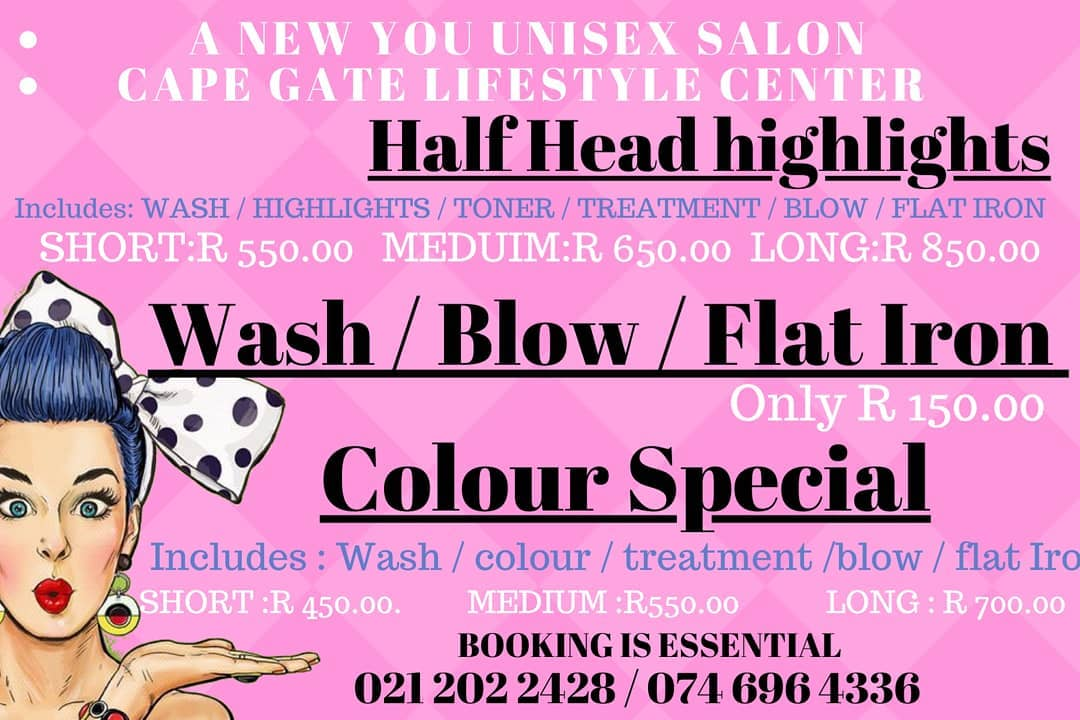 Don't miss these amazing new years hair specials-take advantage today.