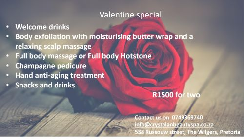 Amazing Valentine special for you and your loved one