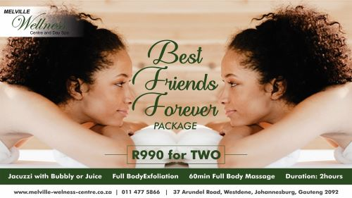 Best Friends Spa Package - treat yourselves!