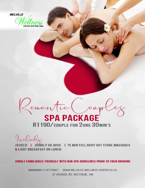 Enjoy a Romantic Couples Spa Package!