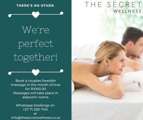 Relax with a Couples Massage this February