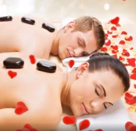 Enjoy a mid week Valentines spoil of a Massage, Facial and gel hands and feet overlay for only R550