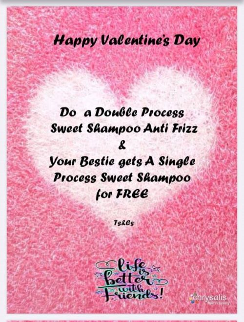 Gift your Bestie a Free Shampoo when you treat yourself