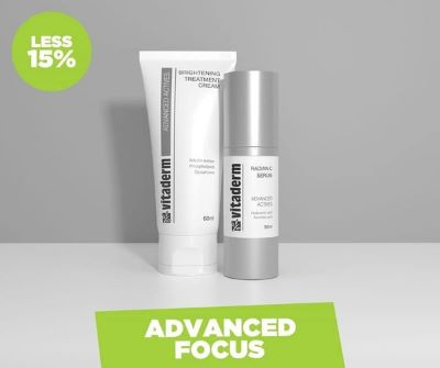 Vitaderm October specials!!! SAVE 15% on Radiance C serum (now R514)  AND on Brightening Treatment (now R568)