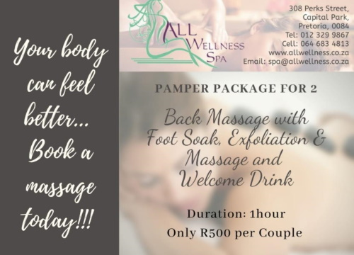 Pamper Package for 2!