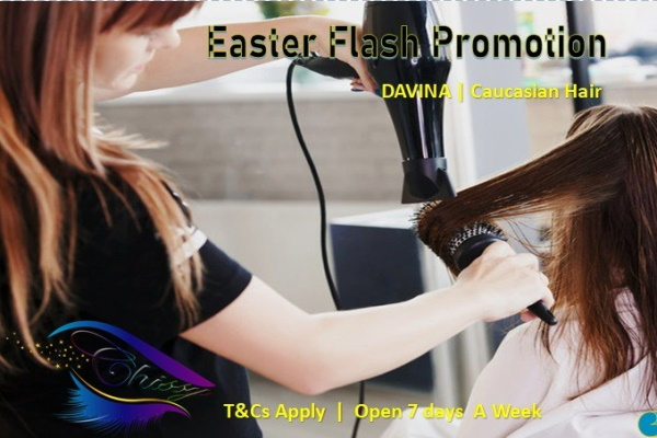 Save R400 when you book: WASH, BLOW-DRY & TREATMENT for only R150