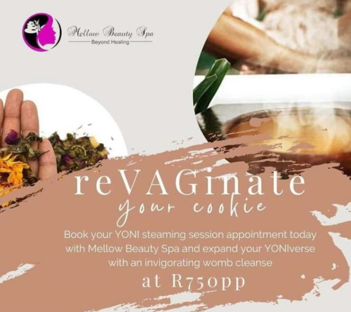 YONI Steaming sessions available on the 1st Sunday of each month (limited to 5-6 ladies)