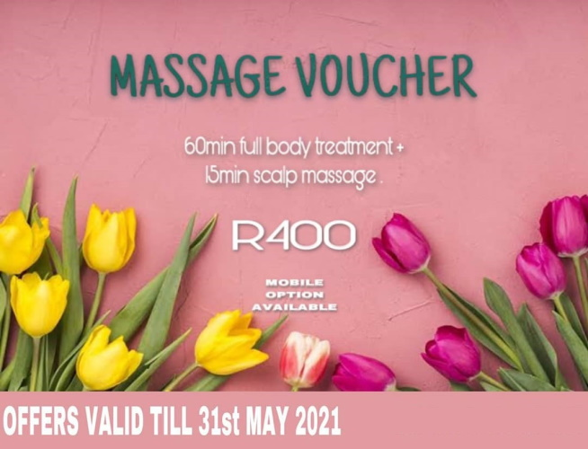 SPOIL your Mom this Mother's day!!  Vouchers available for the studio and mobile service.