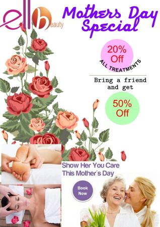 Spoil your Mom this Mother's Day!!
