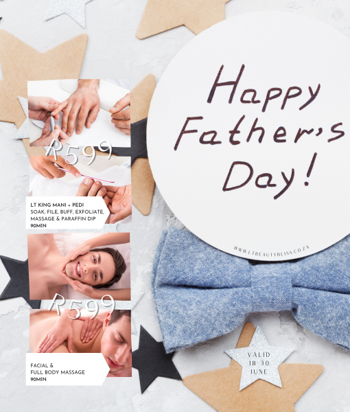 Father's Day Specials valid 18-30June2021!!!