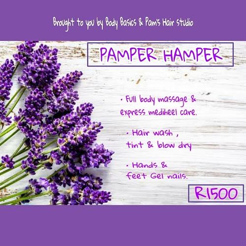 Winter Pamper Hamper to keep you glowing!  1 June - 31 August 2021.