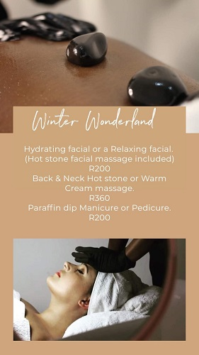 Winter Specials for JULY!!!